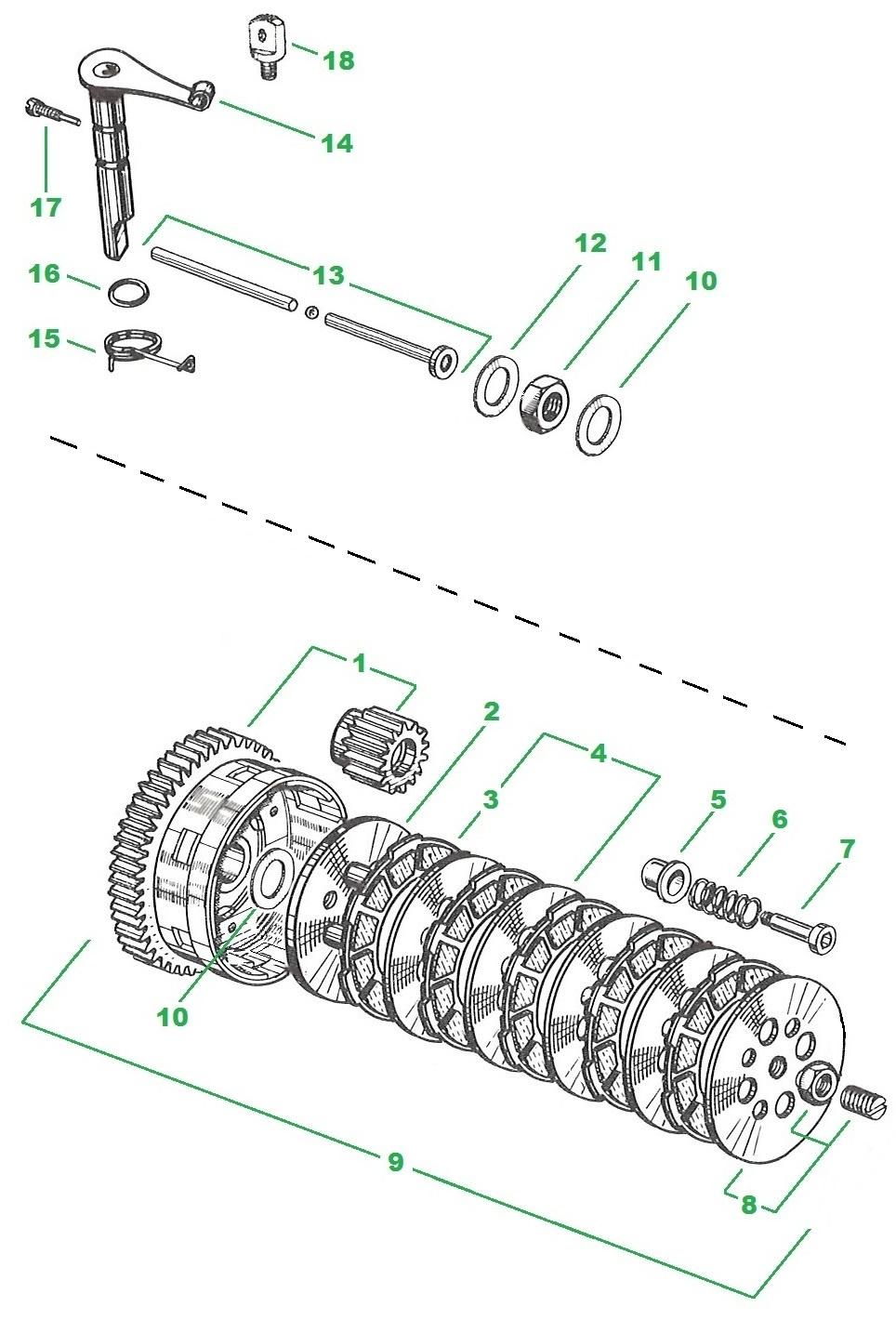 moteur p6 et variantes